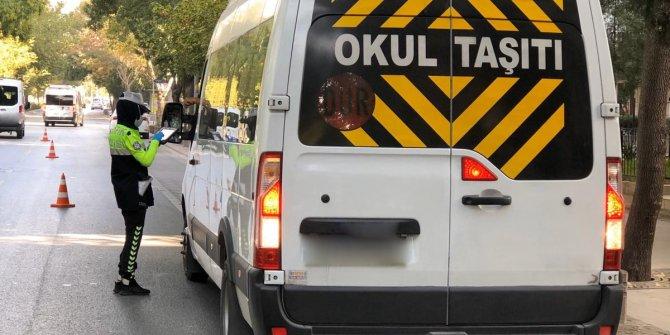 159 okul servisi trafikten men edildi