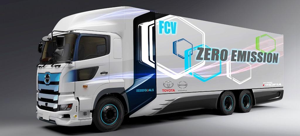 Toyota ve Hino Trucks'tan  hidrojenli ağır ticari