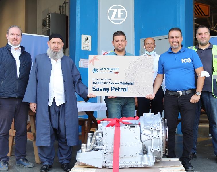 ZF Services Türk, 15 bininci müşterisini ağırladı