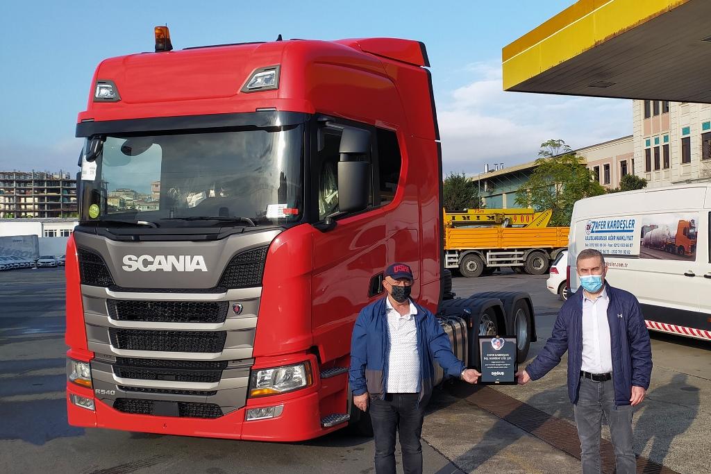 Zafer Kardeşler'e 'Özel'  düşük şasili Scania