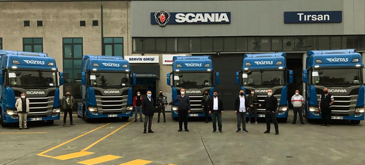 Düztaş Lojistik,özel üretim  Scania'larını aldı