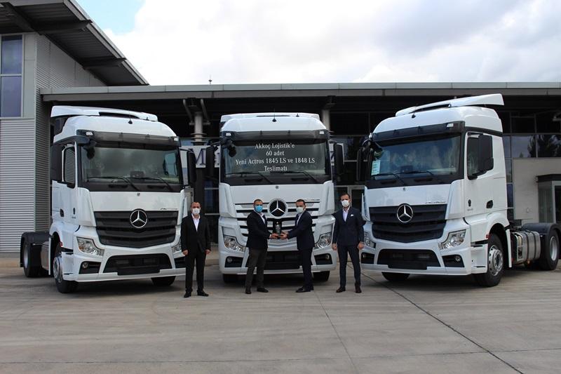 Akkoç Lojistik, 60 yeni Mercedes Actros aldı