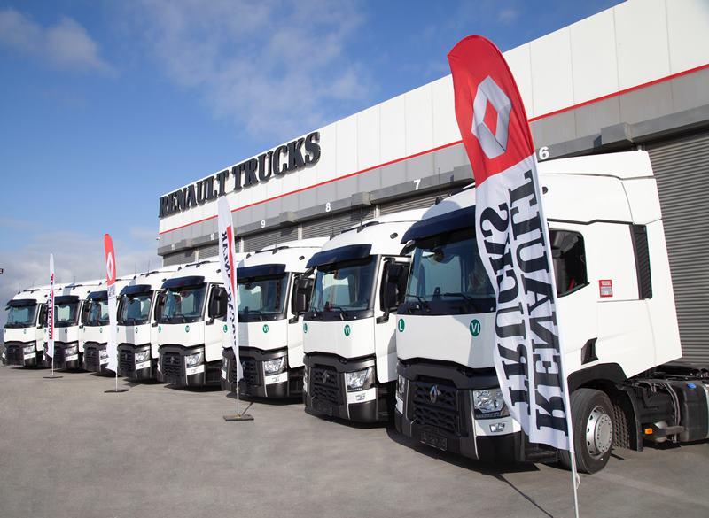 """VIP, 20 yıldır olduğu gibi yine """"Renault Trucks"""" dedi"""