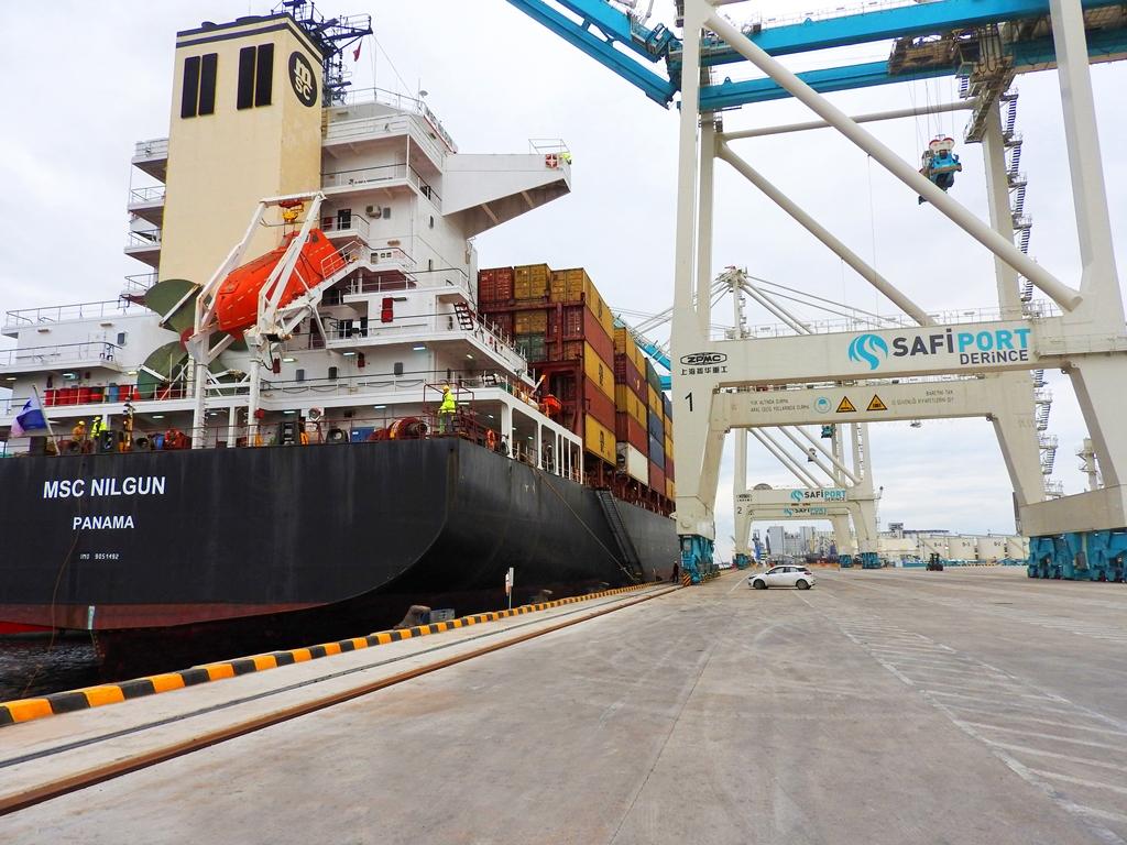 Safiport Derince-MSC'den Avrupa'ya express servis