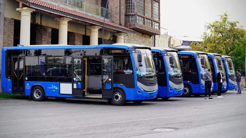 Otokar, Gürcistan'ın otobüs siparişini teslime başladı
