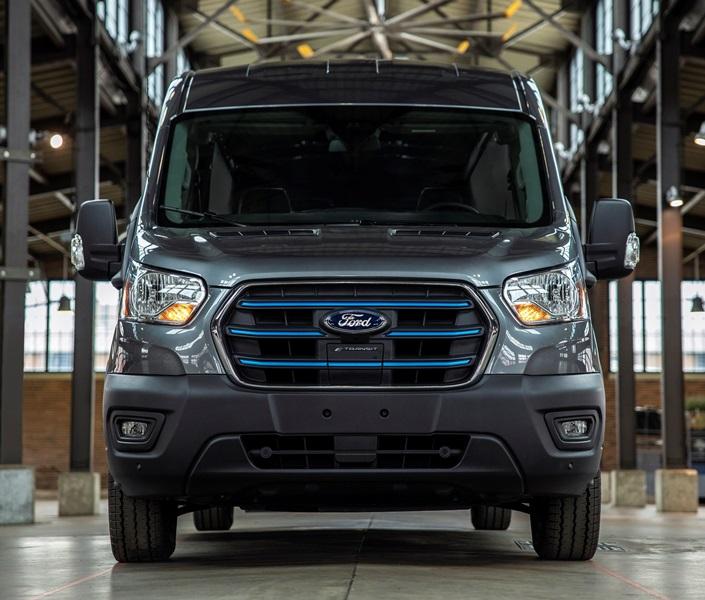 Ford'un tam elektrikli ticarisi E-Transit Kocaeli'de üretilecek
