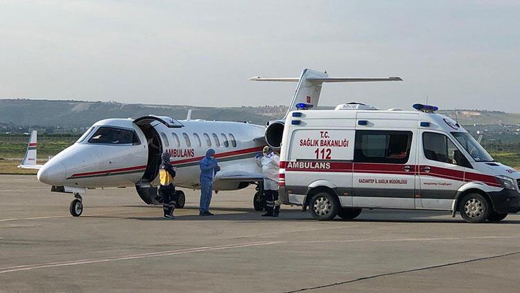 Ambulans uçakla koronalı hasta ithalatı yasaklandı