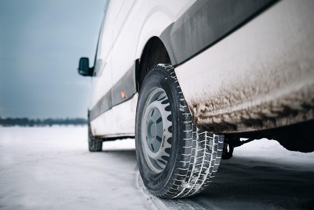 DUNLOP'tan hafif ticari araçlara özel yeni Kış lastiği