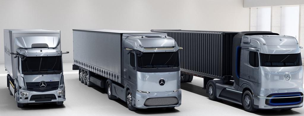 Mercedes'in e-mobil ve elektrikli kamyonlarına 2021 İnovasyon Ödülü