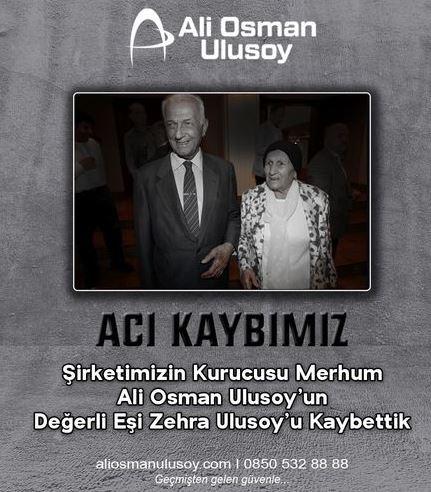 Ulusoylar, Zehra Anne'yi de kaybetti