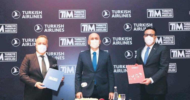 TİM ve THY işbirliği ihracatı uçuracak