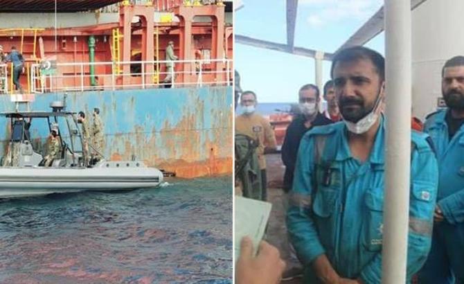 Hafter'in el koyduğu Türk sahipli gemi yoluna devam edecek
