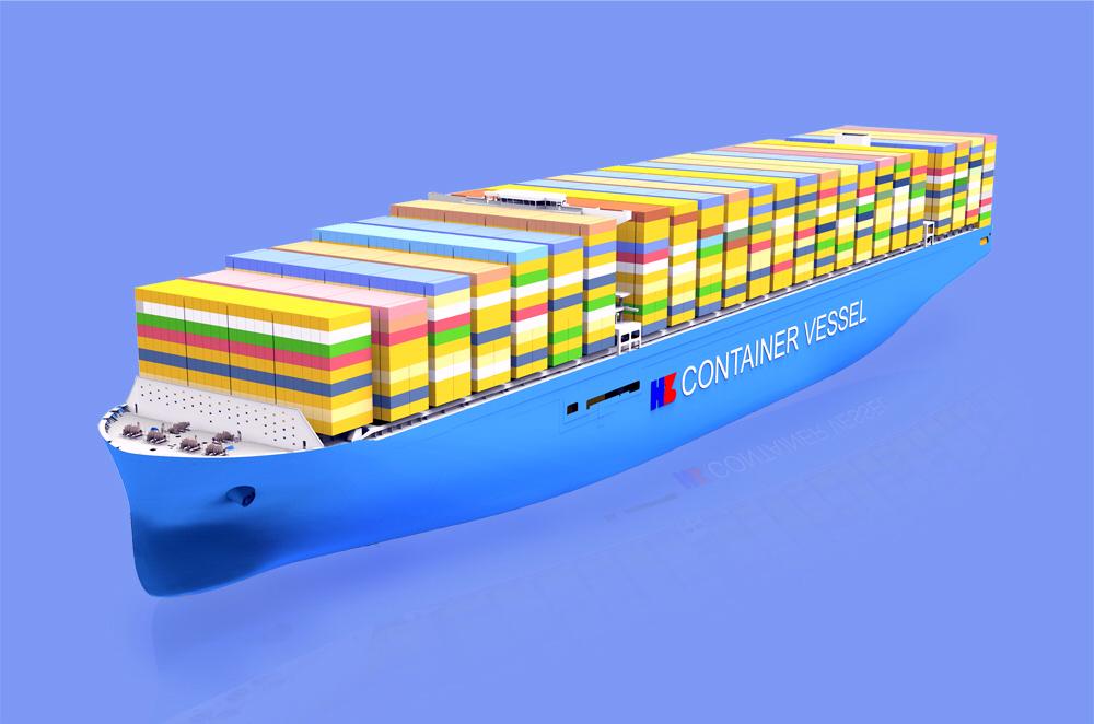 Çin, en büyük 4 konteyner gemisini inşa için anlaştı