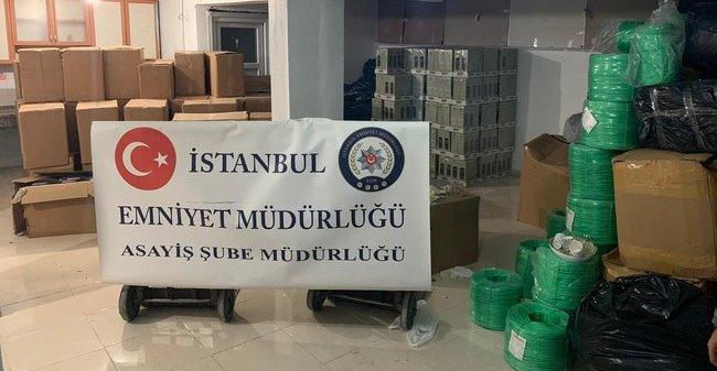 İstanbul'dan Adıyaman'a 5 milyonluk nakliye vurgunu