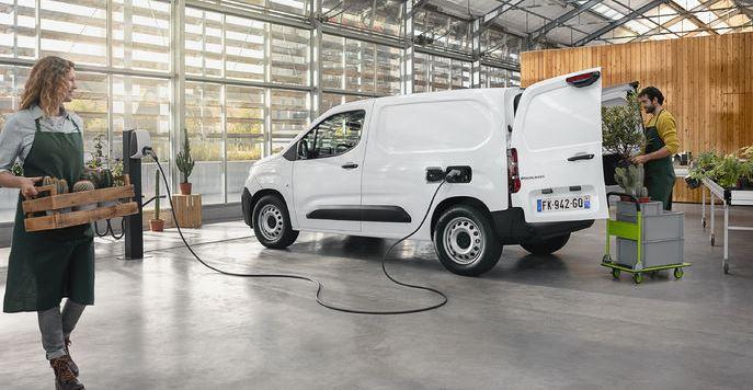 Citroën, %100 elektrikli hafif ticari aracı ë-Berlingo'yu tanıttı