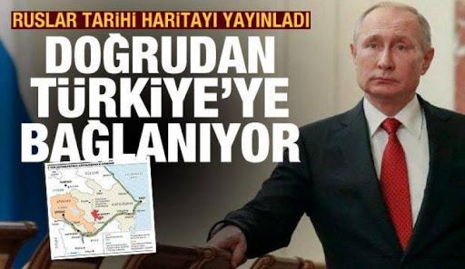 Dağlık Karabağ, Azerbaycan'dan Türkiye'ye bağlanacak