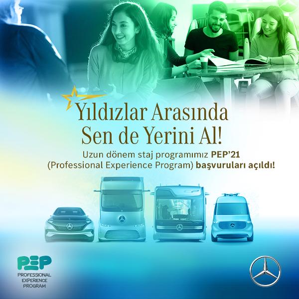 Mercedes-Benz, PEP başvuruları başlıyor