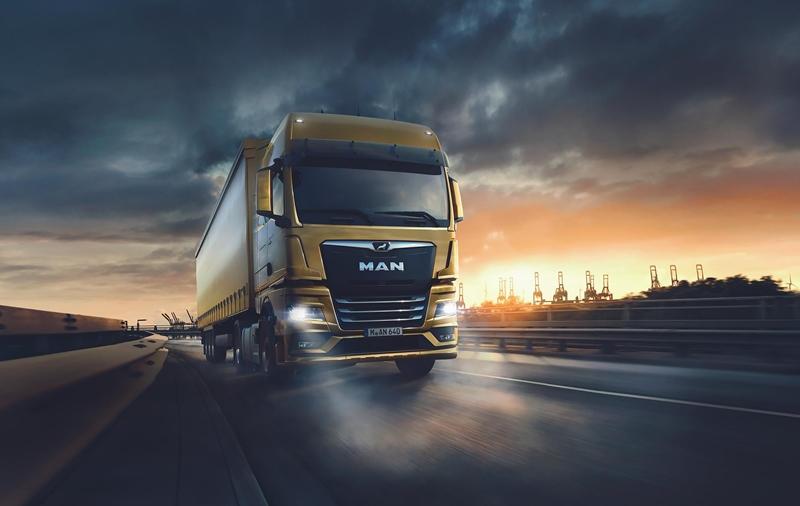 İthal kamyon çekici pazarının birincisi: MAN