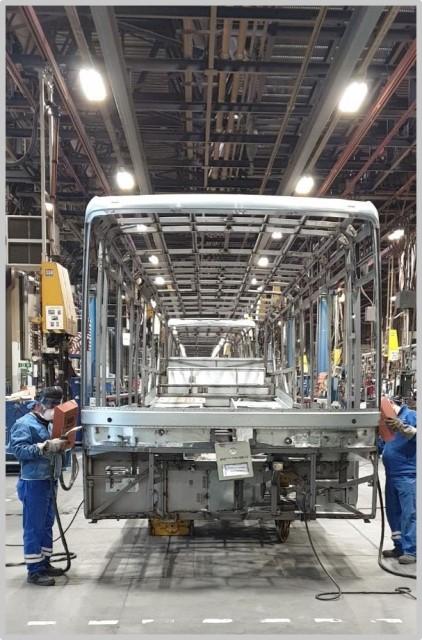 Salgın mağduru 2019 model Mercedes otobüslere jest