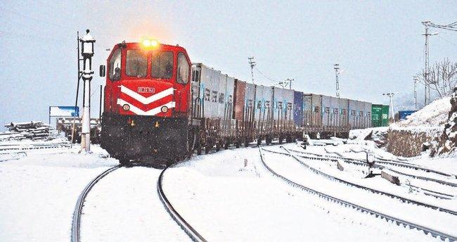 Rusya'ya gidecek ilk ihracat treni bugün yola çıkıyor