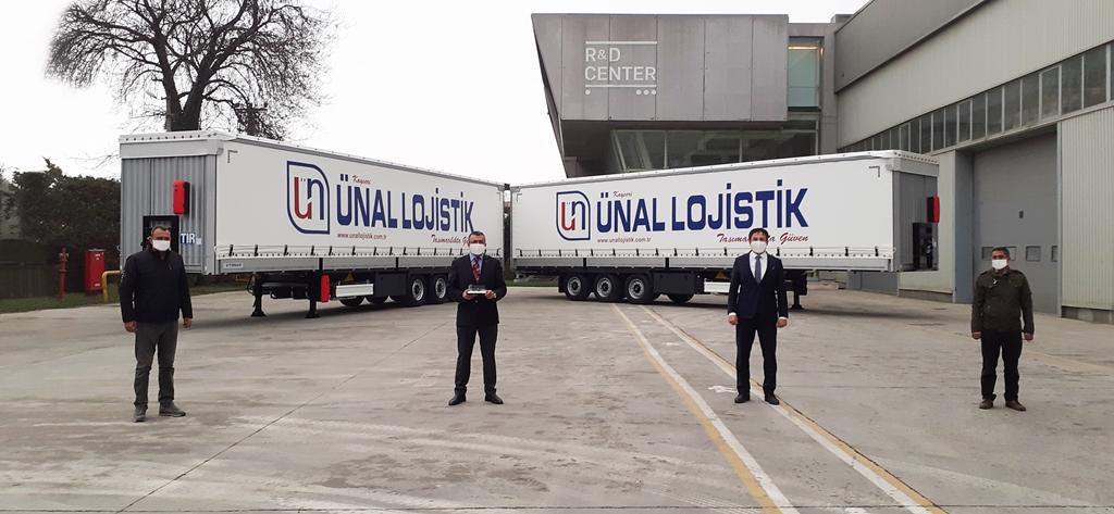 Ünal Lojistik, 50 Tırsan Multi Ride ile Avrupa yollarında