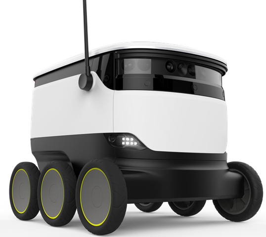 Goodyear Ventures, robotlarla teslimat yapacak