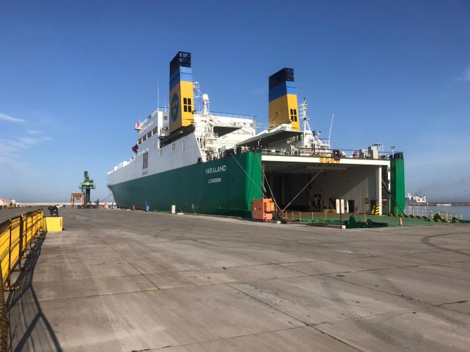 Karasu Limanı'nda Ro-Ro seferleri başladı