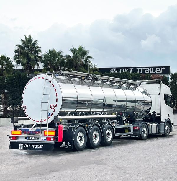 OKT Trailer'den Avrupa standardında süt tankeri