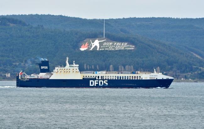 """""""Gallipoli Seaways"""" hasar tespiti için İstanbul'a geliyor"""