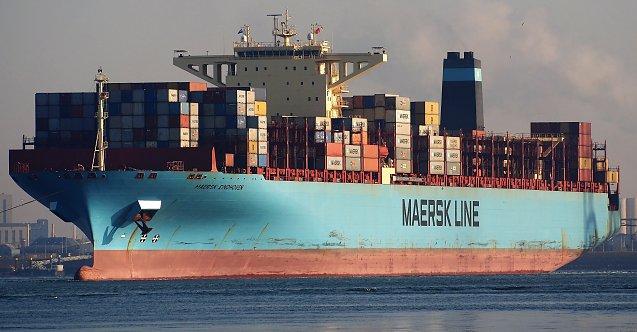 Maersk gemisi yüzlerce konteyner kaybetti