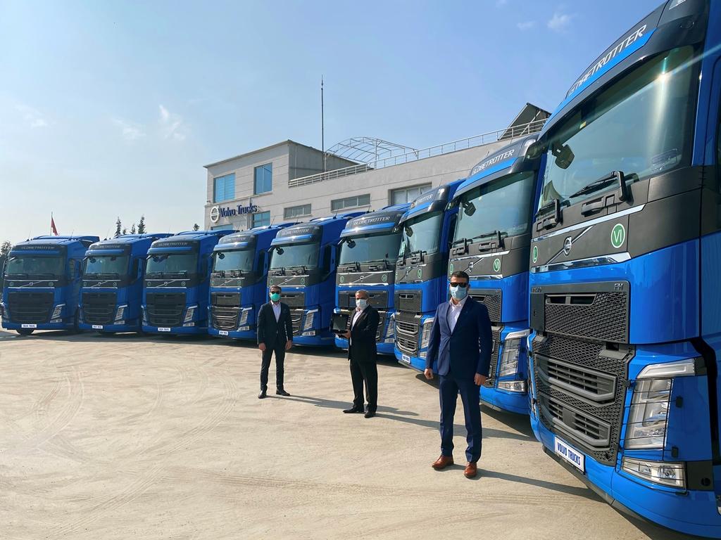 Rastkaya Nakliyat 10 Volvo Trucks ile filoyu güçlendirdi