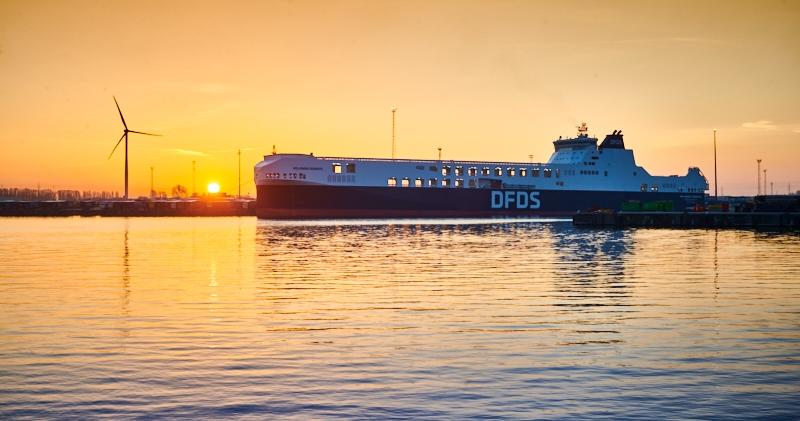 """DFDS, """"yeşil lojistik"""" için emin adımlarla ilerliyor"""