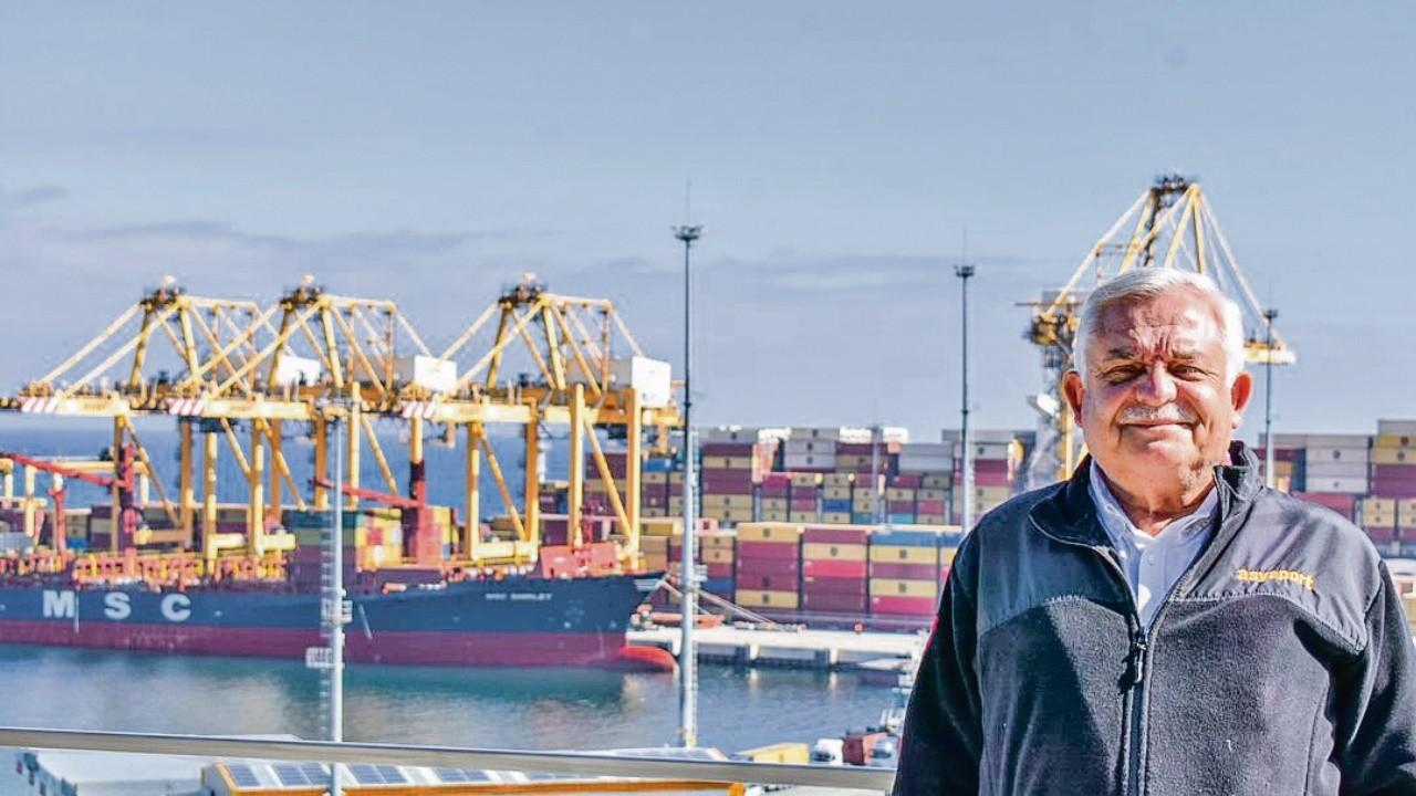 Avrupa'ya her gün gemi gönderen ilk liman Asyaport