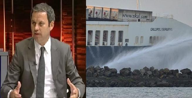 DFDS gemisinde yangın çıktı, olan ihracatçıyla nakliyeciye oldu