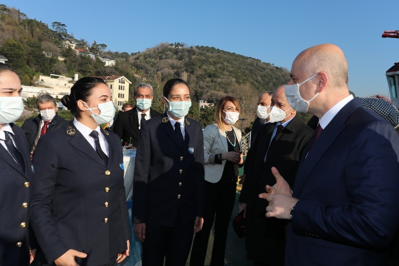DFDS, her yıl minimum %10 kız öğrenci stajyer alacak