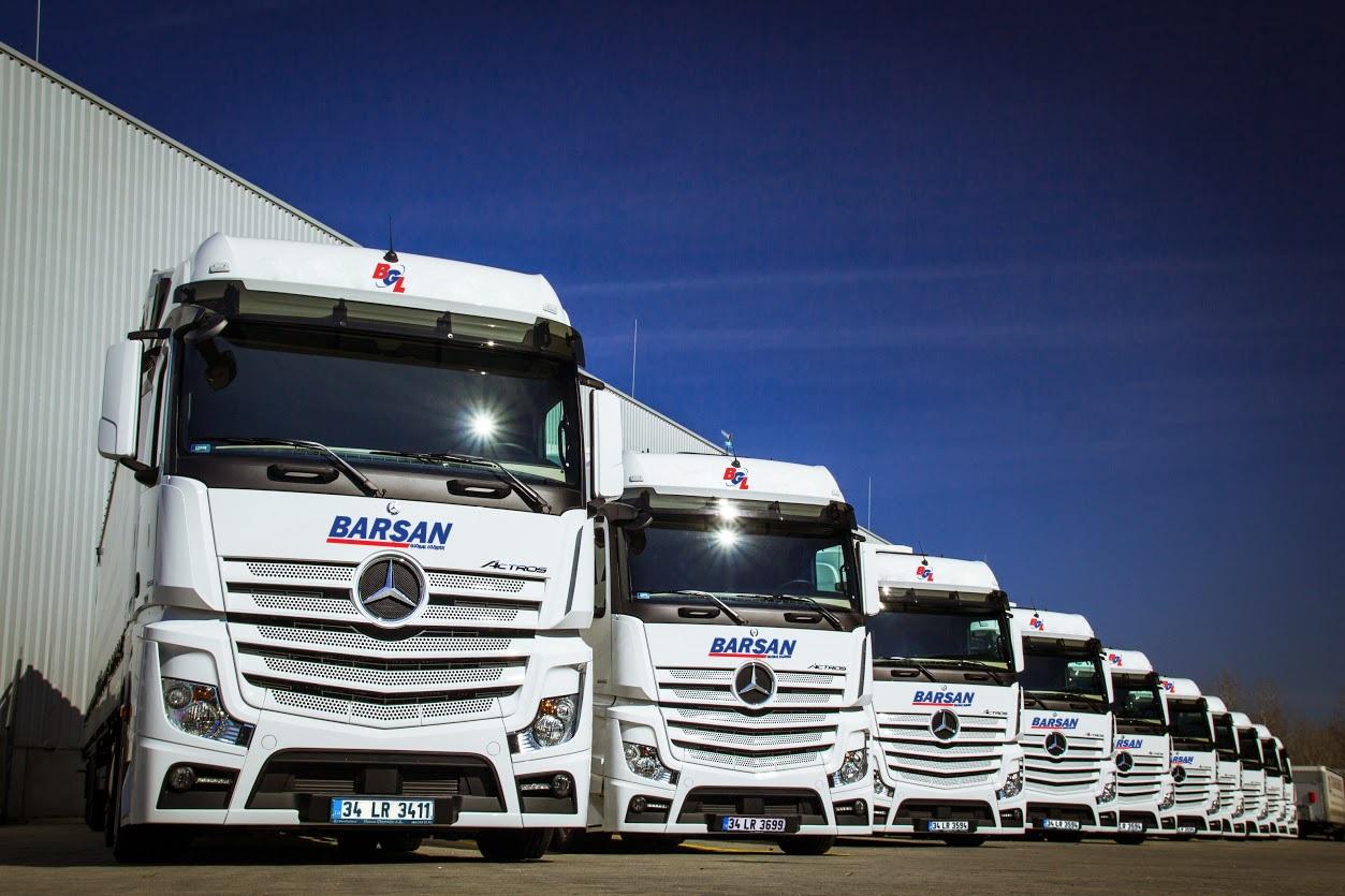 Barsan'ın 800 kamyon ve 1.000 treylerini ZF donattı