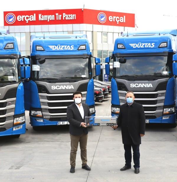 Düztaş, filosunu Scania ile büyütmeyi sürdürüyor