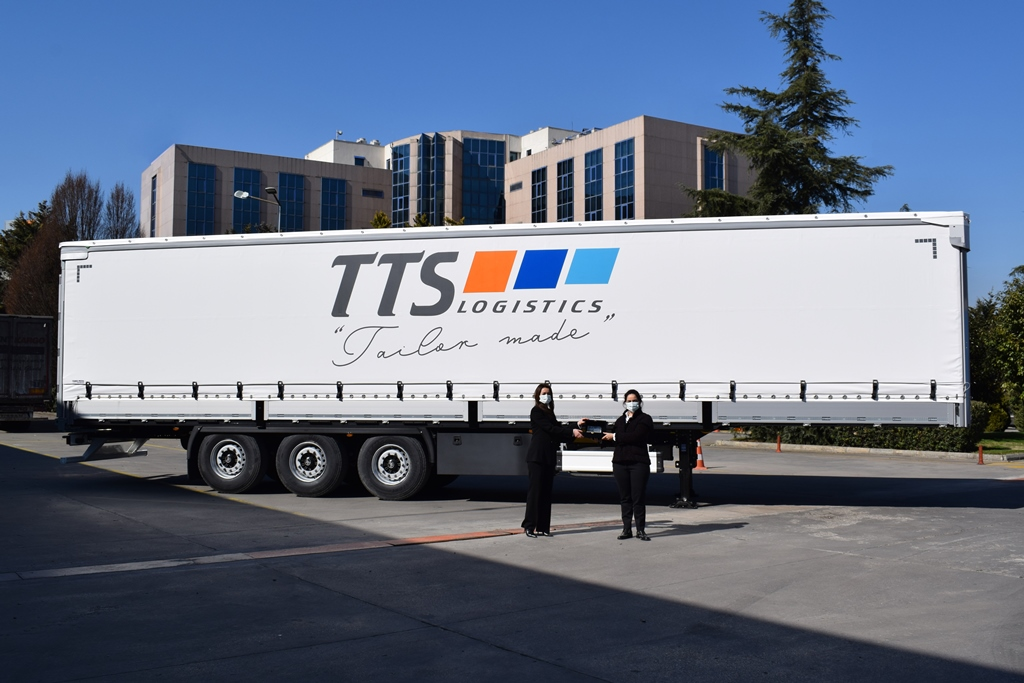 TTS Lojistik, güçlü filo için TIRSAN'ı tercih etti