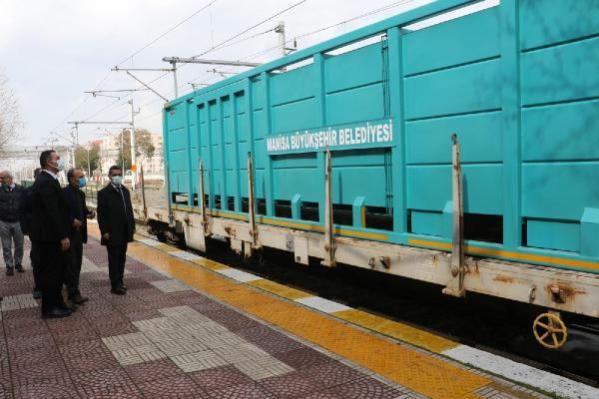 Manisa, katı atıklarını trenle taşıyacak