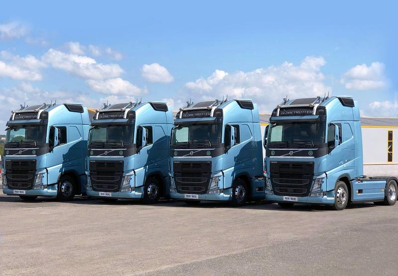 Trans 33 Lojistik'e 5 adet Volvo FH500 TC kamyon