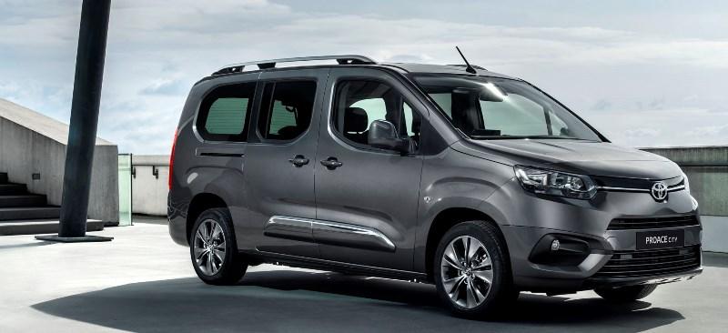 Toyota'dan binek araç kıvamında kompakt hafif ticari