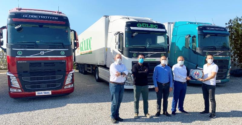 Güleç Transport, filosuna yeni Volvo FH araçlar kattı