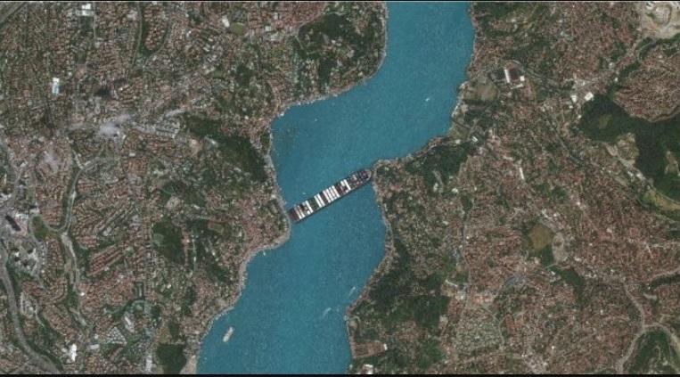 Ya Süveyş yerine İstanbul Boğazı'nı kapatsa nasıl görünürdü?