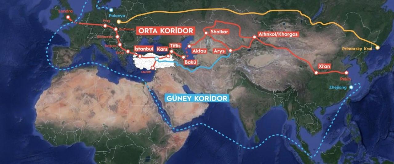 """Evergreen krizi, Türkiye'ye """"Orta Koridor"""" fırsatı yarattı"""