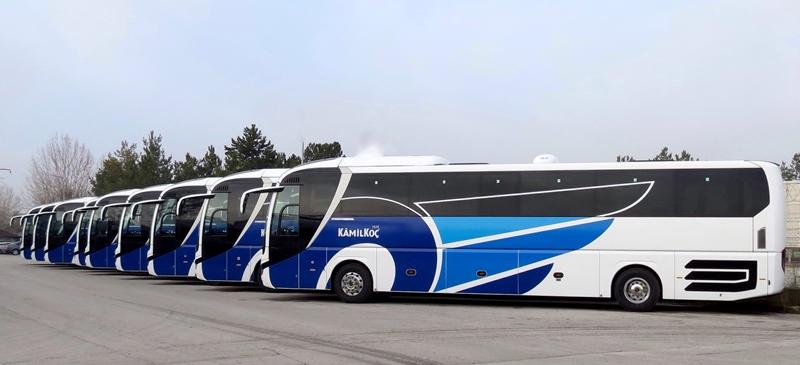 Kamil Koç filosu, aldığı 20 MAN otobüs ile artık daha güçlü