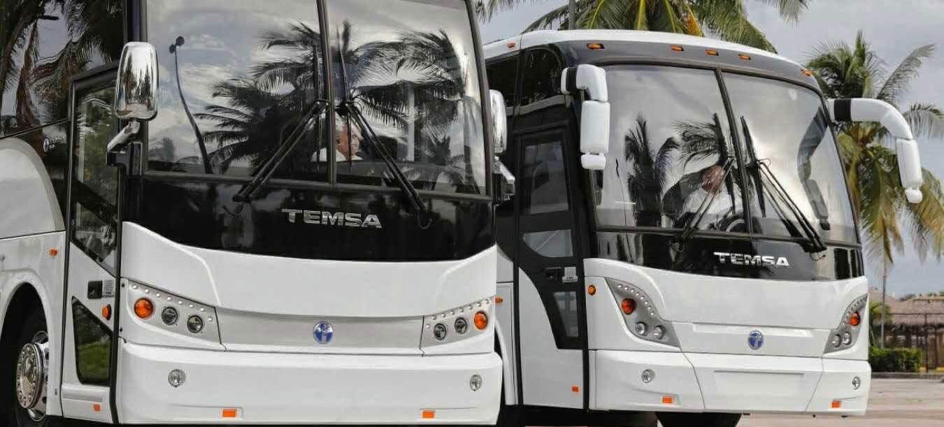 Antalya'da turizm sezonu Temsa ile açıldı