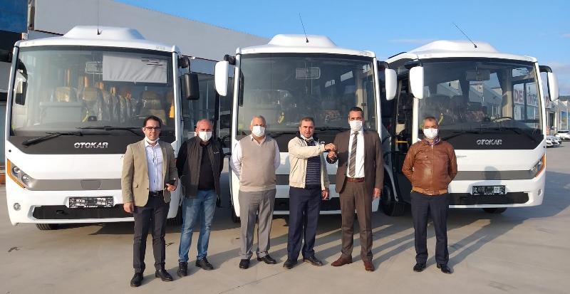 Otokar'dan İzmir Bölgesi'ne 5 farklı teslimat