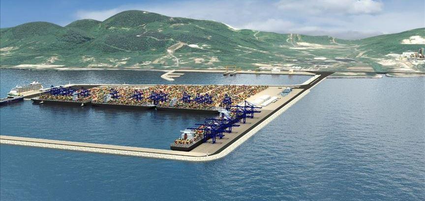 Ünye Konteyner Limanı projesi tamgaz ilerliyor