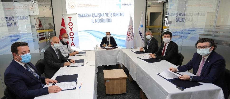 Toyota Türkiye 2.500 kişi istihdam edecek