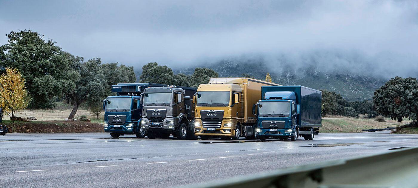 MAN'ın yeni nesil kamyon ve çekici portföyü